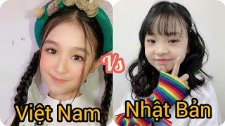 [ Tik Tok Đại chiến]_ Bảo Ngọc  ( Việt Nam ) VS Hinata ( Nhật Bản ) ♥