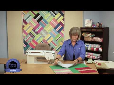 Quilting Quickly: Aberdeen Quilt -- Patchwork Designs Adventure!