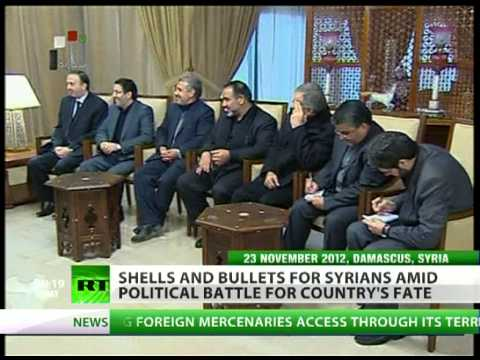 Iran doubles Syria peace talks effort amid raging violence