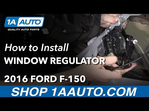 How to Replace Front Window Regulator 15-19 Ford F-150