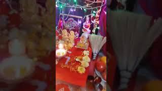 Diwali Decoration | Flowers, Pooja, lights, rangoli, Aarti