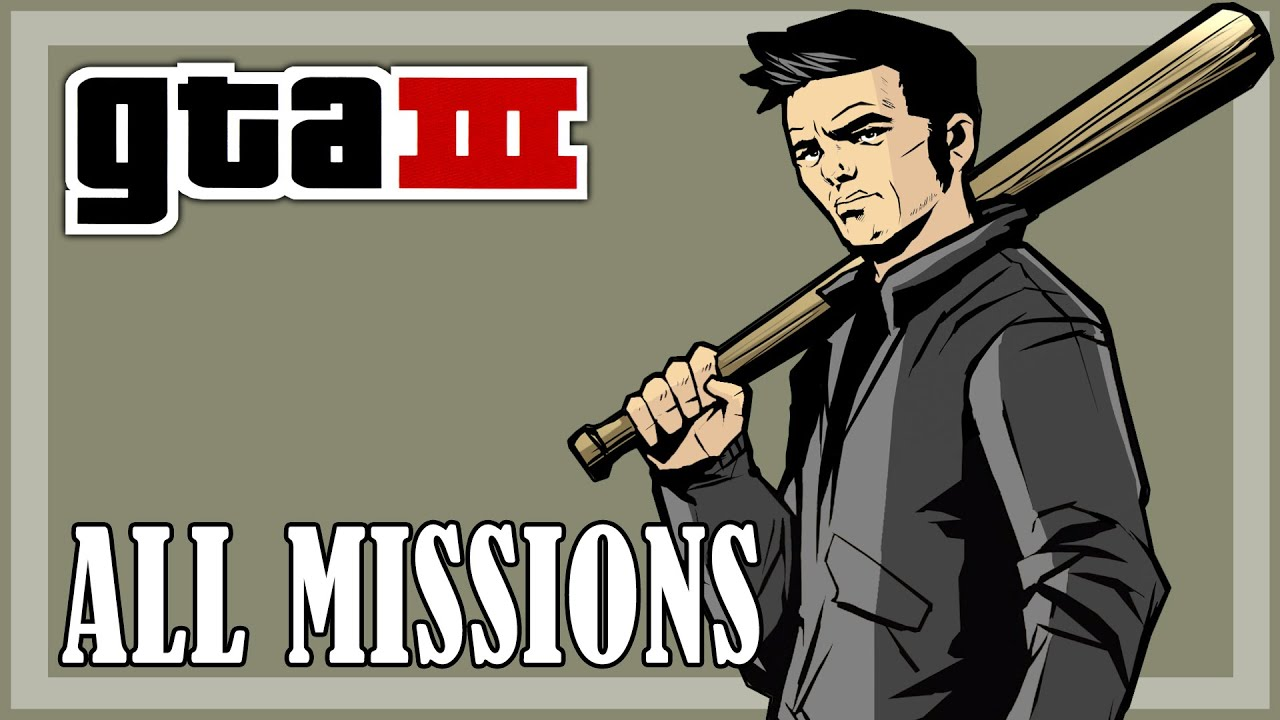 Gta 3 all missions full game hd youtube voltagebd Gallery