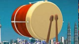 Suara takbir modern  ---) music + vocal + karaoke HQ high quality Gema Takbiran