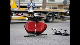 Ecco il volo del drone sul mare che porta sangue da Riccione all'ospedale di Rimini
