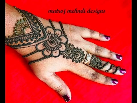 Stylish Easy Simple Mehndi Henna Designs For Hands Mehndi Designs
