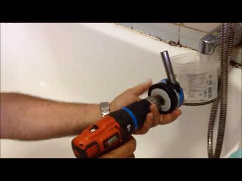 drill powered water pump with garden hose hook up