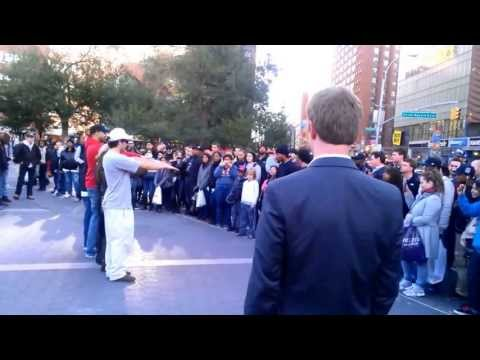 Funny street performer with amazing skills in Union Square, New York City – Part 2