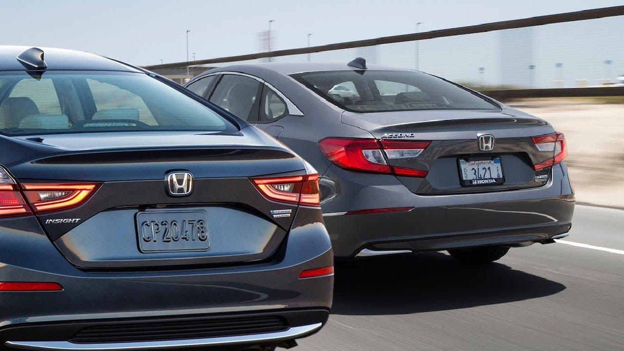 2019 Honda Insight Hybrid Vs 2018 Accord