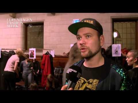 Nicholas Nybro, Designer, Nicholas Nybro - Backstage Interview AW16