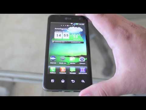LG optimus 2X (p990) unboxing y primera vista del primer dual core del mundo