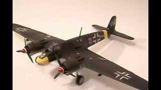 Armado de  un Henschel Hs129B-2 kit