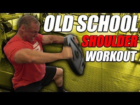 Old School Shoulder Workout | For Mass