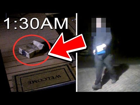 Who Sent Me a Creepy Package at 1:30AM? (2017)
