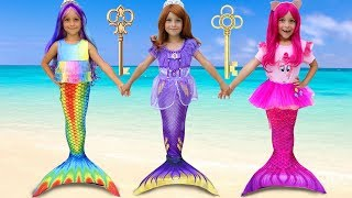 Sofia becomes a Princess and going to the ball, Funny stories about the little Mermaid