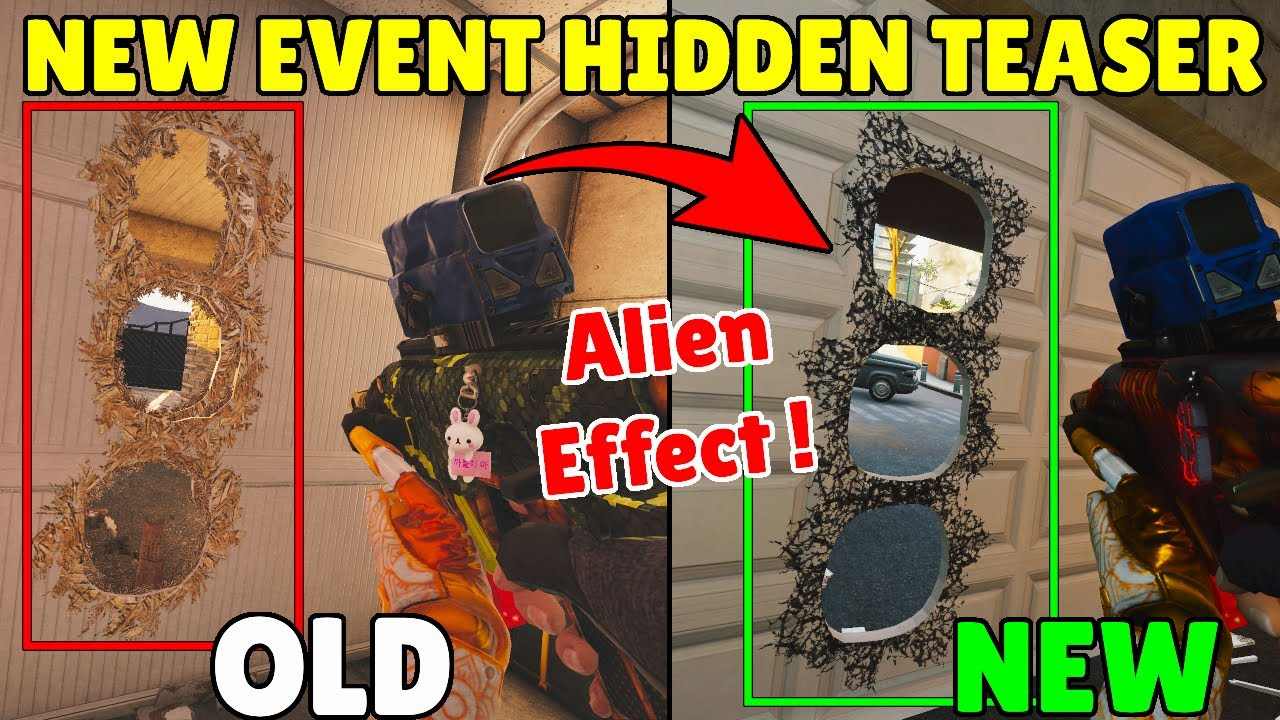Ubisoft Added a Secret Teaser For The *NEW EVENT* - Rainbow Six Siege