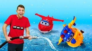 Супер крылья: Джетт иего друзья— Видео для детей, Веселая Школа— Зимние развлечения