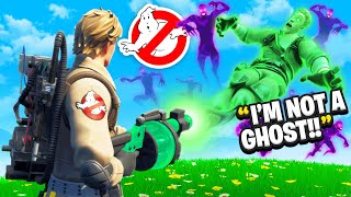I Trolled Him With GHOSTBUSTERS In Fortnite
