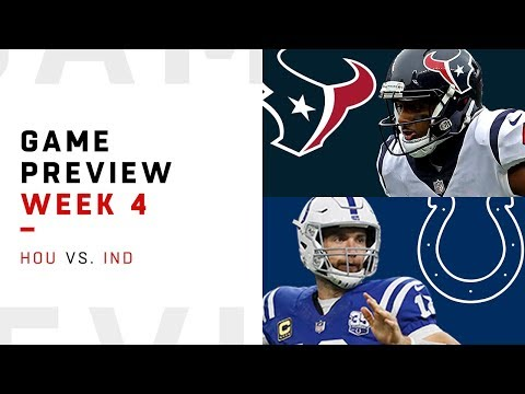 Houston Texans vs. Indianapolis Colts | Week 4 Game Preview | NFL Film Review