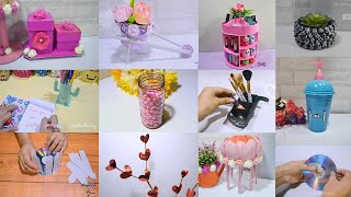 12 AWESOME RECYCLE CRAFTS IDEA THAT YOU SHOULDN'T MISS TO CREATE!