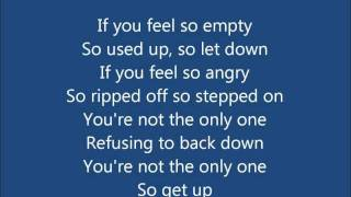 Riot- Three Days Grace lyrics