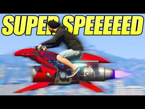 GTA 5 ONLINE NEW OPPRESSOR MK2 SUPER SPEED GLITCH! (Secrets, Glitches & Tricks) thumbnail