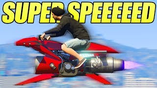 GTA 5 ONLINE NEW OPPRESSOR MK2 SUPER SPEED GLITCH! (Secrets, Glitches & Tricks)