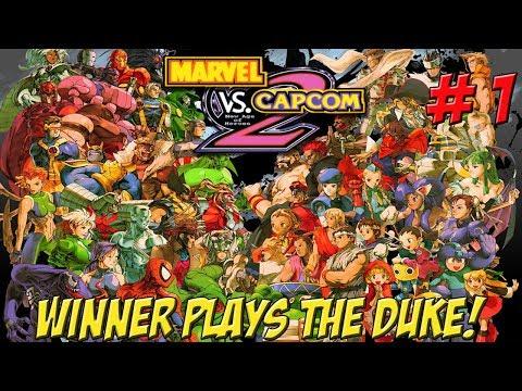Marvel vs. Capcom 2! XBOX Winner Plays on Duke! Part 1 - YoVideogames