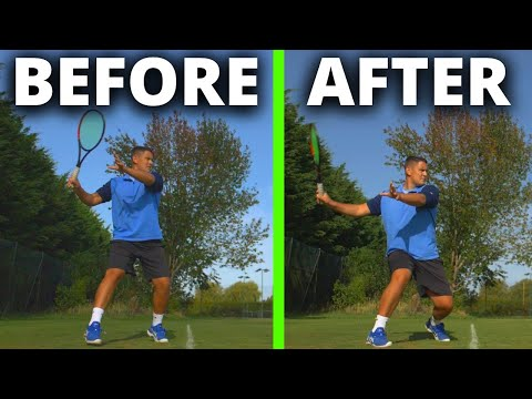 Tennis Forehand - 4 Ways To Create Massive Power On Your Forehand - Part Two