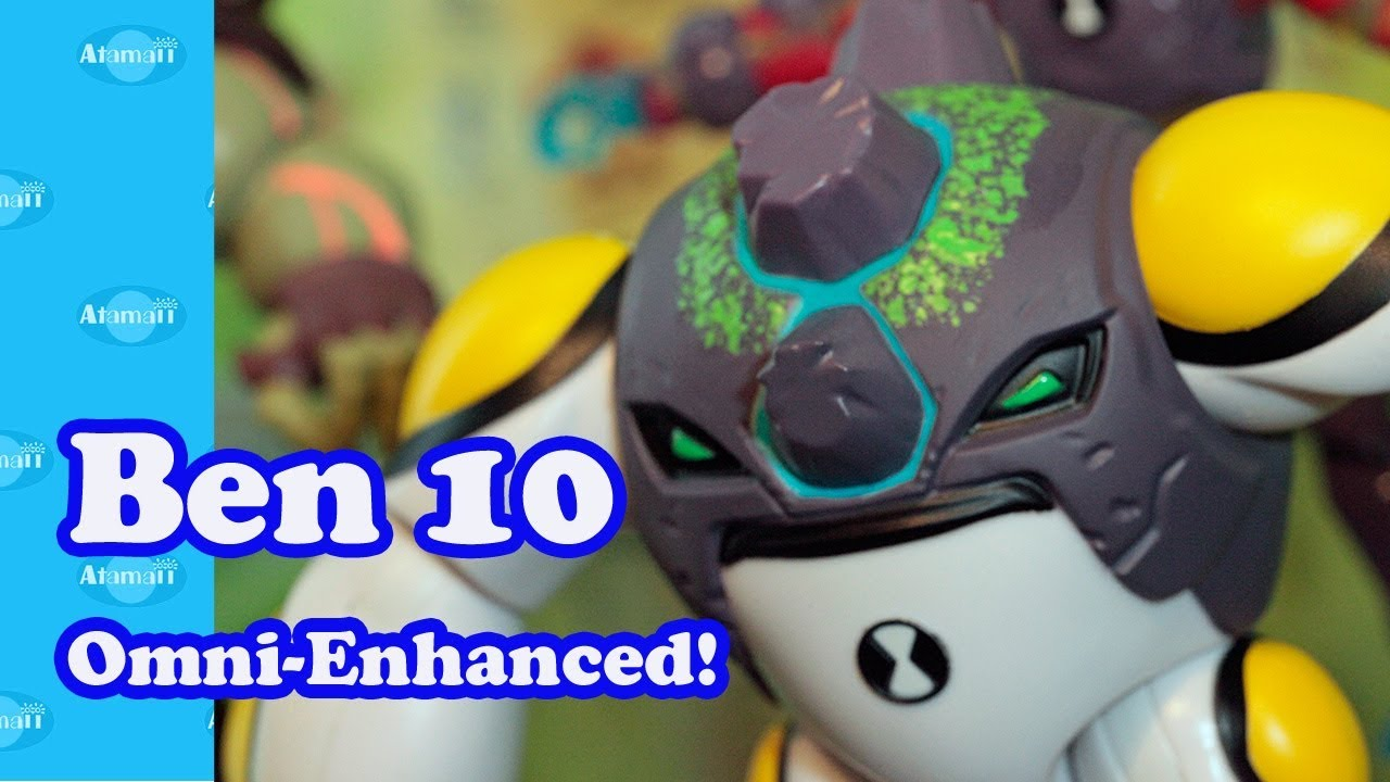 Ben 10 Toys Spring 2018 Omni-Enhanced Aliens!