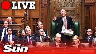 LIVE: Sir Lindsay Hoyle's first day in the Speaker's chair