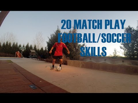 20 Skills To Use In A Football/Soccer Match