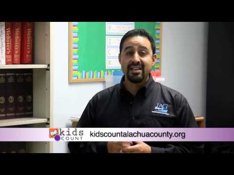 Public Service Announcement for Kids Count of Alachua County