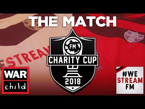 THE FOOTBALL MANAGER CHARITY CUP | THE MATCH