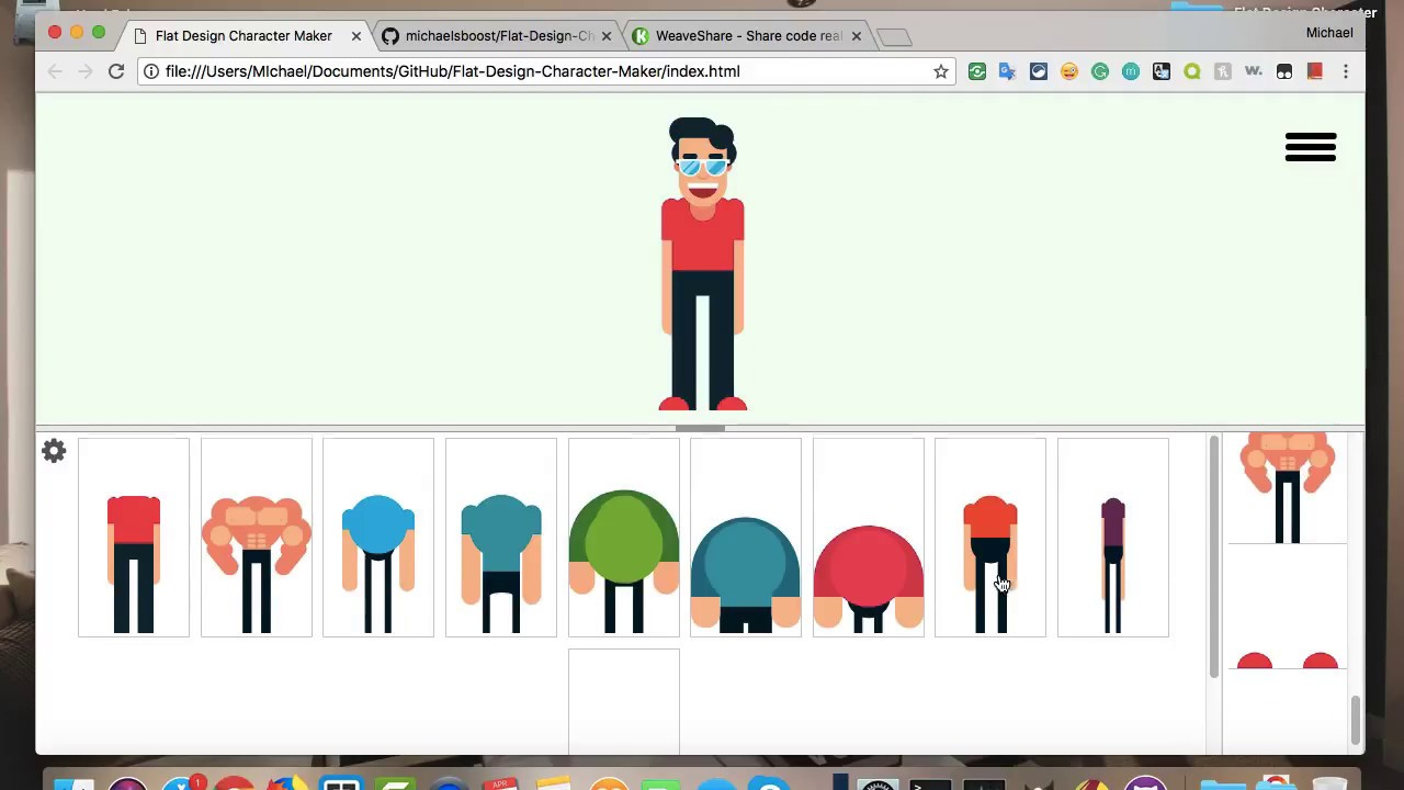 Introducing The Flat Design Character Maker