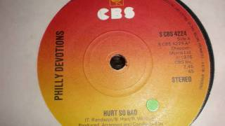 PHILLY DEVOTIONS-HURT SO BAD