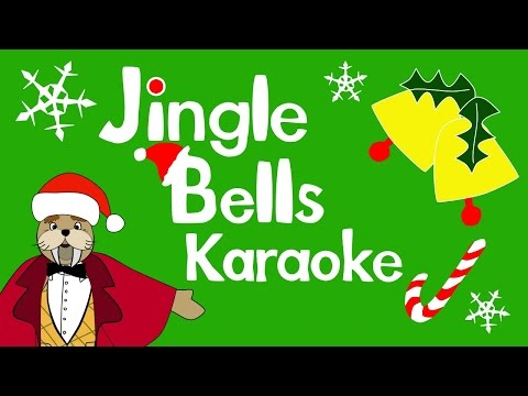 Jingle Bells karaoke for kids | The Singing Walrus