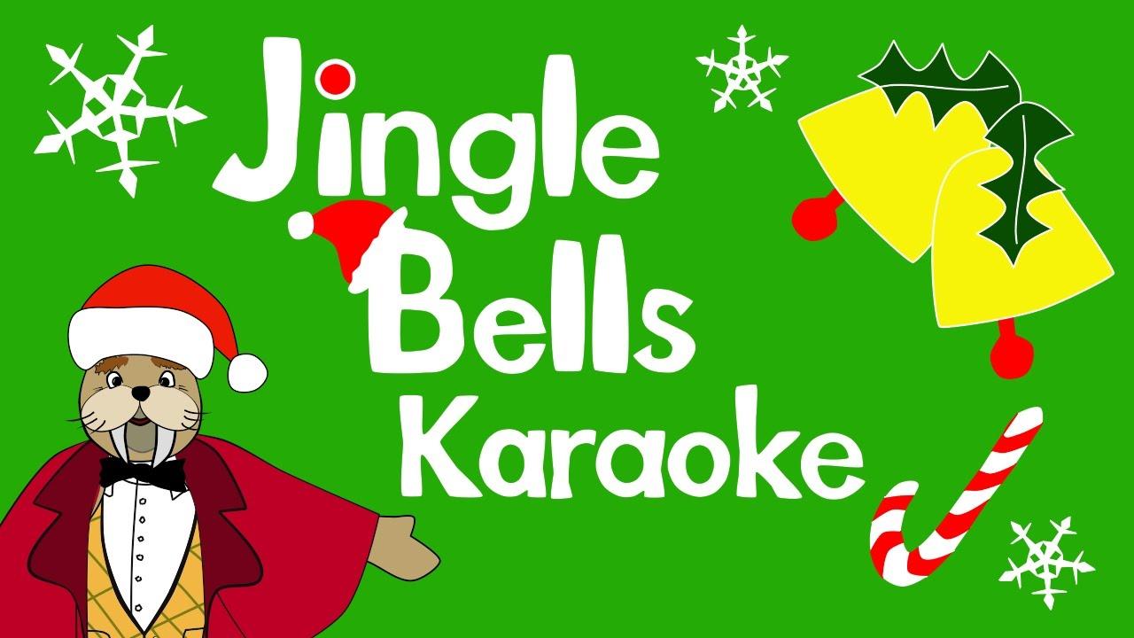 Jingle Bells karaoke for kids | The Singing Walrus