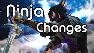 Ninja Changes | FFXIV Endwalker Media Tour