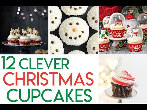 12 Clever Christmas Cupcake Tutorials and Ideas
