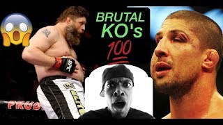 4 Times Brendan Schaub got FLATLINED! Worst UFC Knockouts