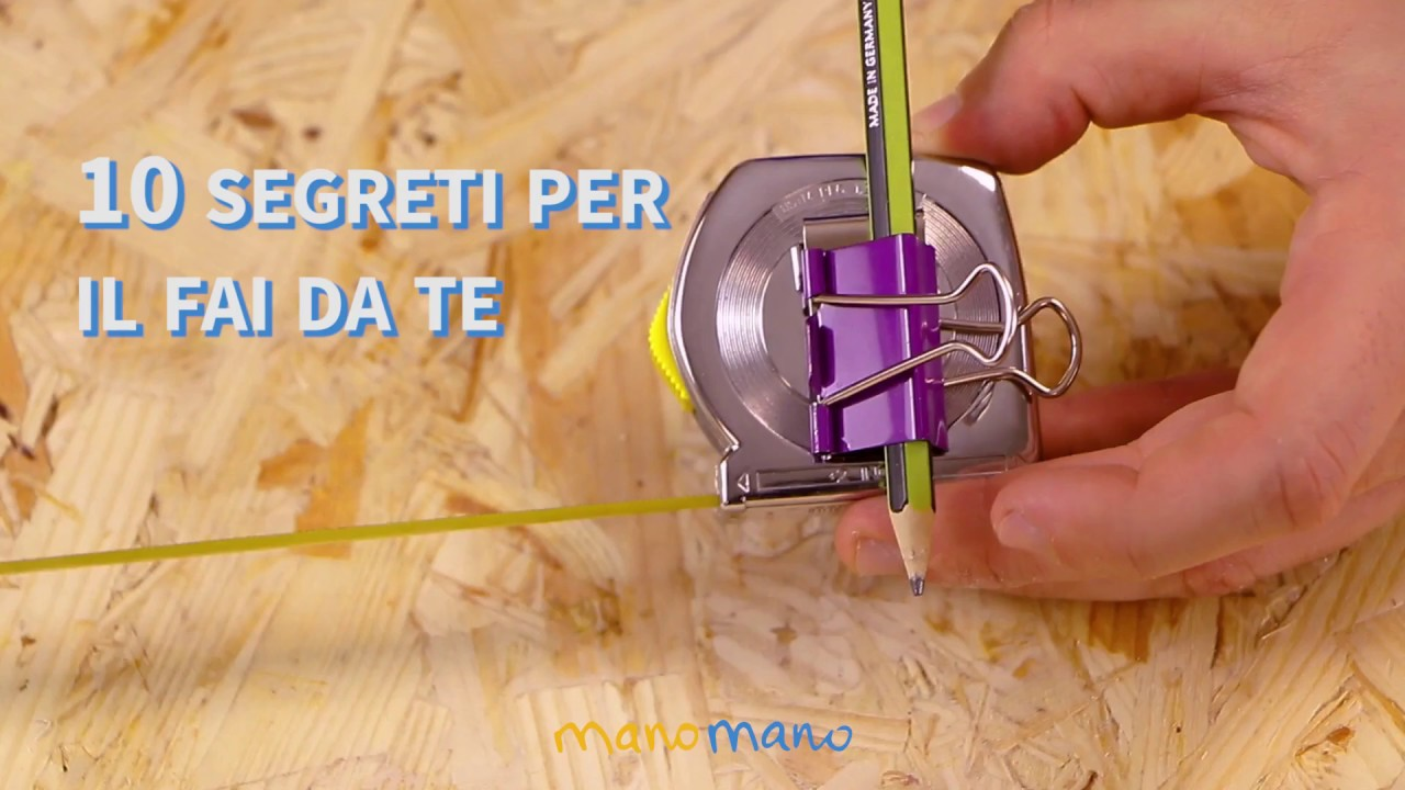 10 segreti per il fai da te life hacks manomano it for Cose fai da te semplici