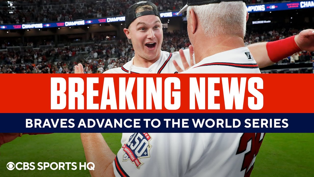 Atlanta Braves advance to the World Series for the first time in 22 ...