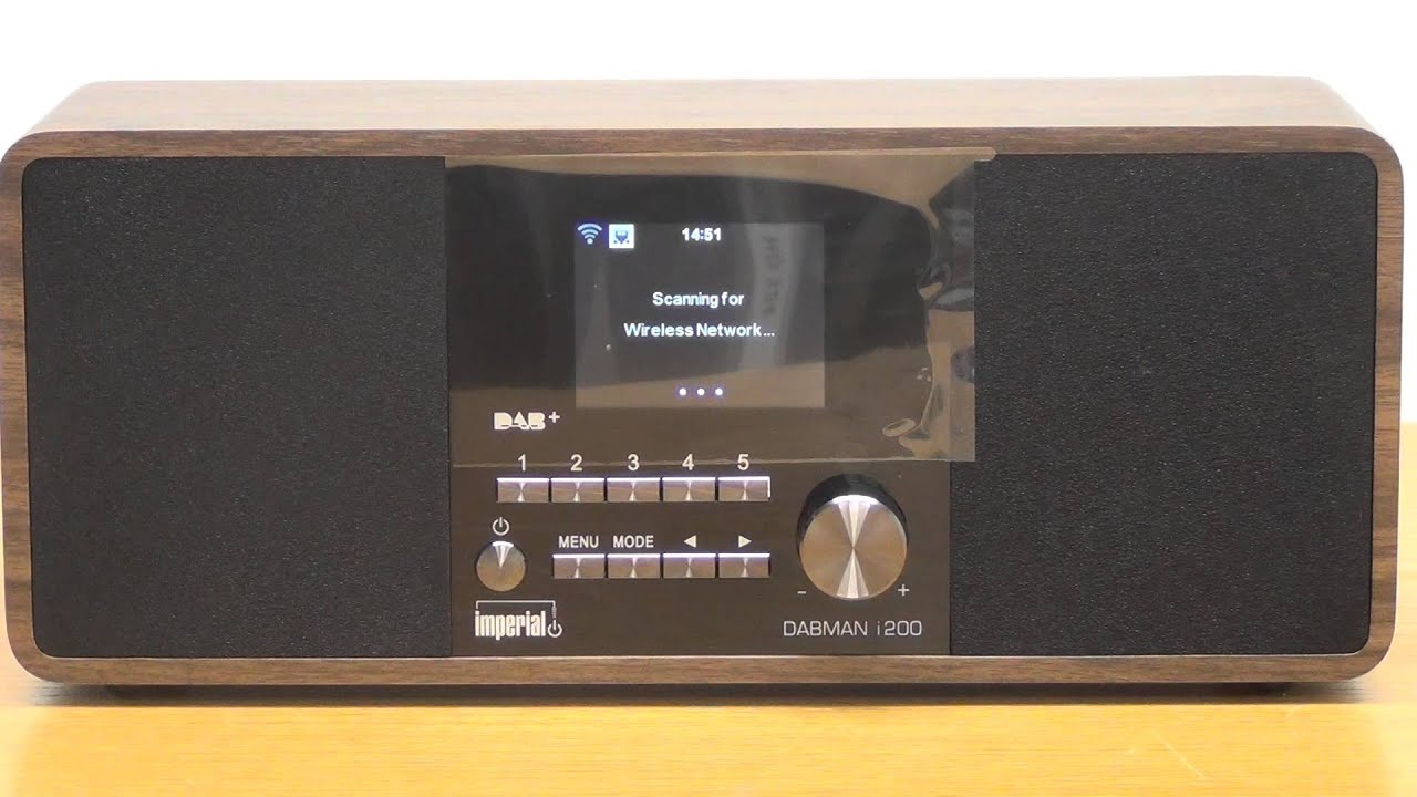 Internet Radio - How to Connect to WiFi Network