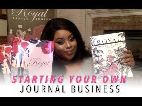 Starting Your Journal Business (Prayer Journal) | Genesis Dorsey