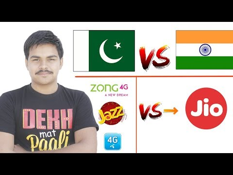 India jio 4g vs Pakistan Telecom Companies ? Who is Best . .?