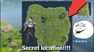 Fortnite - secret location!