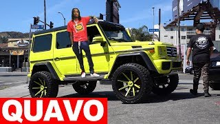 QUAVO's MERCEDES NEEDS HELP, SALOMONDRIN IS BACK FOR A WRAP.