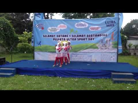 Ultra Sport Day Competition 2016, SD Muhammadiyah Sapen Yogyakarta Dance (part 1)