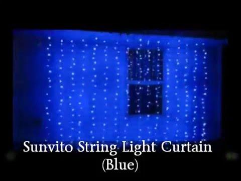 Sunvito String Light Curtain