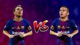 Thiago Alcantara Vs Christian Eriksen ● Who's Better For Barcelona ?